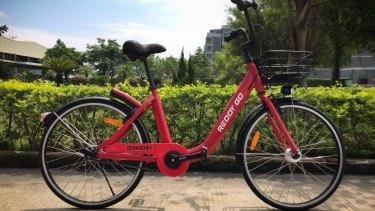Bluegogo had supplied bikes to Sydney's Reddy Go share bike startup.