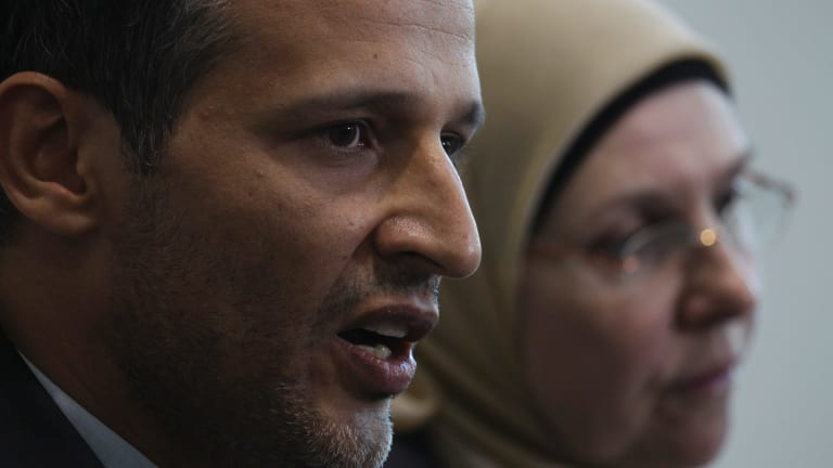 Samier Dandan, president of the Lebanese Muslim Association, was one of several community leaders to criticise Peter Dutton.