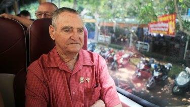 Veteran Keith Payne visiting Vung Tau.