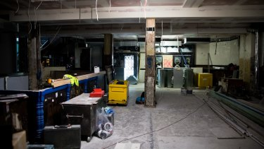The renovations started in February and the new owners hope to open in June.