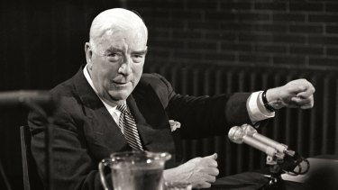 "Robert Menzies: his era ""saw a curious mix of looking back and looking forward""."