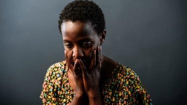 Arts graduate Lulu Jemimah who may be sent back to Uganda despite speaking perfect English