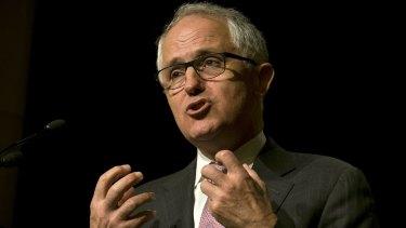 Prime Minister Malcolm Turnbull makes his case for economic reforms in Melbourne.