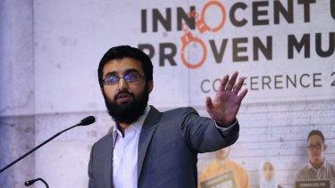Uthman Badar at the Innocent Until Proven Muslim on the weekend.