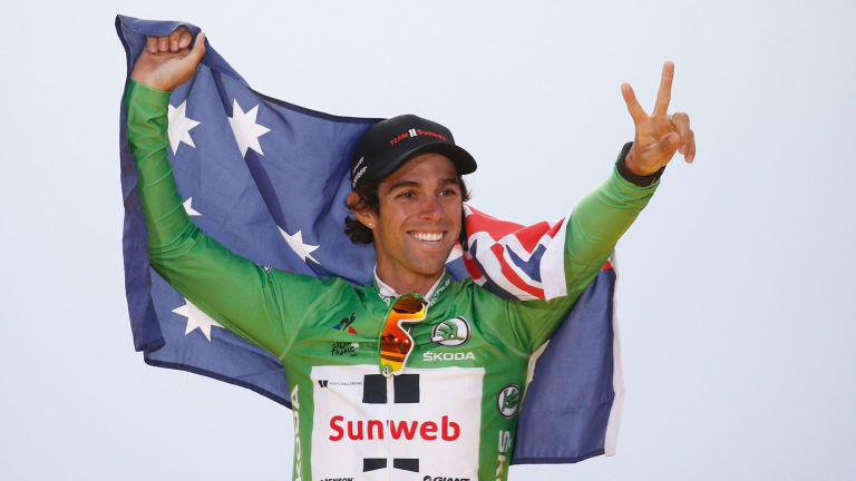 Canberra's Michael Matthews could ride alongside fans in the National Capital Tour.
