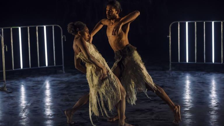Yolanda Lowatta and Tyrel Dulvarie's unusual duet was a highlight.