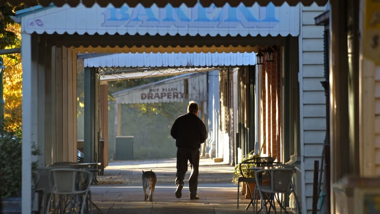 Yackandandah has been untouched by development and retains its olde world charm.