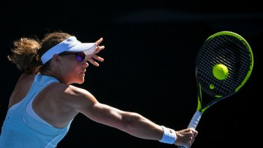 Stosur is out in the first round for her third consecutive Australian Open.