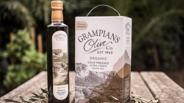 Grampians Olive Company started bottling their 2018 extra virgin olive oil.
