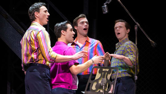 Jersey Boys review: America's fab four back in harmony