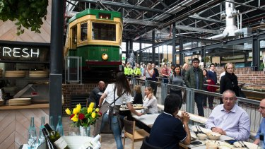 Tramsheds at Harold Park was recognised for its 'adaptive re-use'.