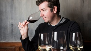Sebastian Crowther, chairman of judges for the Canberra and Region Wine Show.