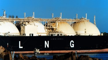 In 2002, the price of liquefied natural gas was at a historically low level.
