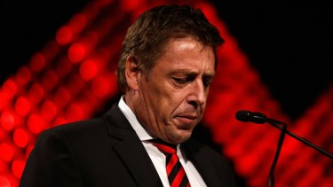 Mark Thompson has not yet notified the league whether he has paid the fine levied on him by the AFL Commission.