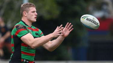 Banned: Rabbitohs prop George Burgess on Thursday.