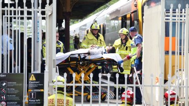 At least 13 people have been injured at Richmond station.