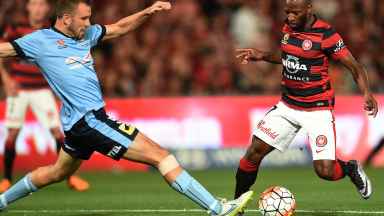 Key matchup: Western Sydney face cross-town rivals Sydney FC in a key fixture for disgruntled fans.