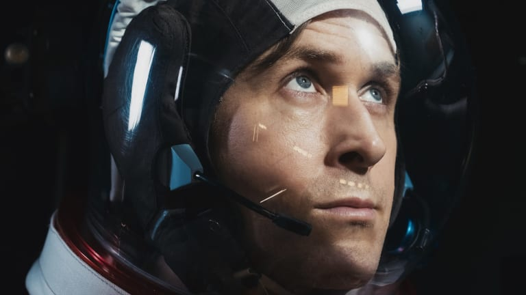 Ryan Gosling does emotionless well in First Man.