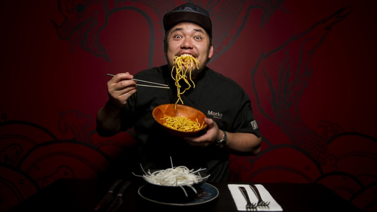 Excited: Mork Ratanakosol of Morks restaurant in Kingston happy to see that the Night Noodle Markets will be coming to Canberra for Good Food Month.