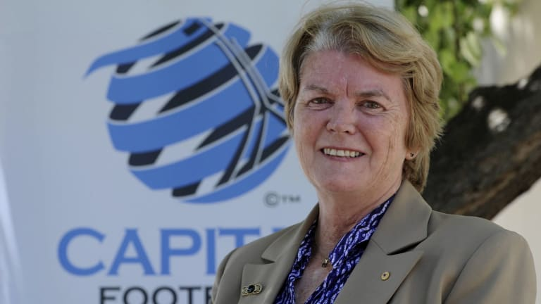 Capital Football chief executive Heather Reid finished her role on Thursday.