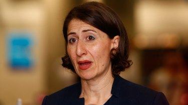 NSW Treasurer Gladys Berejiklian would not speculate on potential bidders.