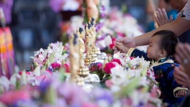 Thousands are expected to attend the Buddhist festival.