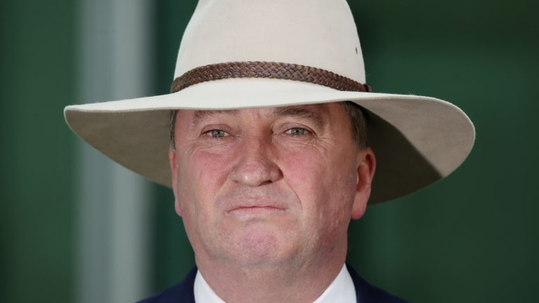 Barnaby Joyce's properties are within 50 kilometres of Narrabri but he says he won't benefit from the project's development.
