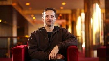 Choreographer Gideon Obarzanek at Arts Centre Melbourne.