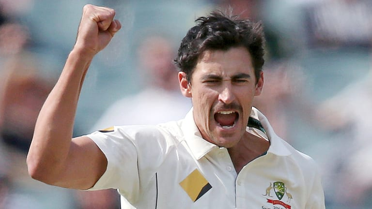 Mitchell Starc knows the conditions in Sydney - and how to use them.