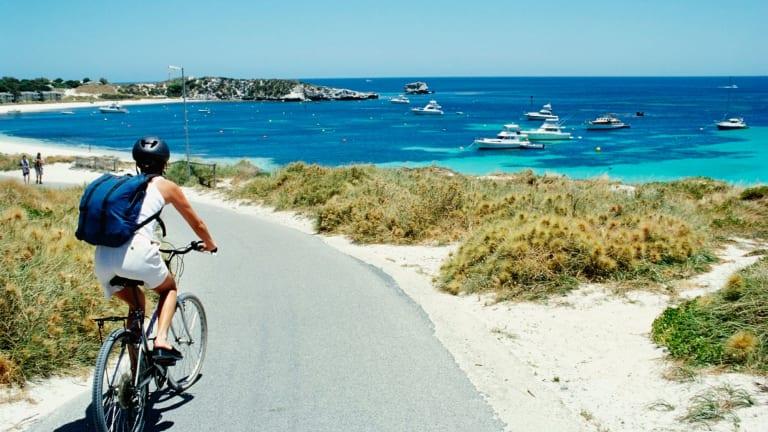 Bikes only: Rottnest Island.