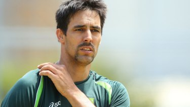 Key player at the Gabba: Mitchell Johnson.