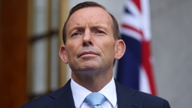 """It is an absolutely clear-cut case of a larger country bullying a smaller country, and this should have no place in our world."": Tony Abbott."