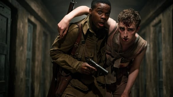 Overlord review: WWII gorefest is to fact as Winston Churchill was to sobriety
