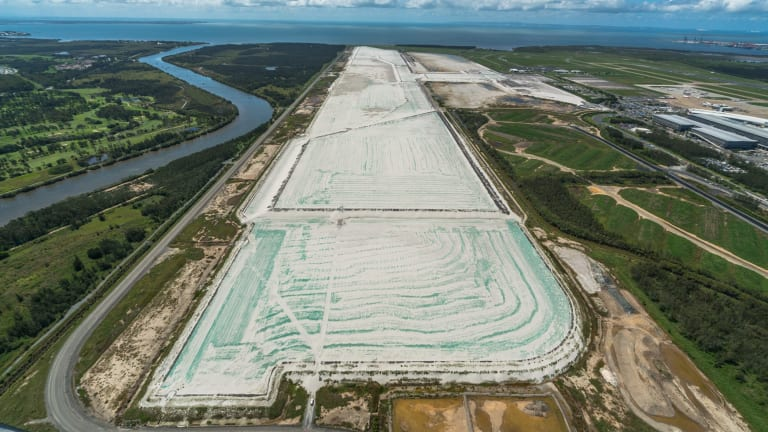 Brisbane Airport's parallel runway is expected to be operational by 2020.