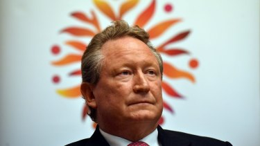 Billionaire Andrew Forrest is leading a new effort to raise the tobacco purchase age to 21.
