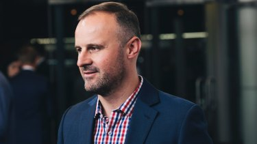 Andrew Barr said funding for health and education would be key priorities for the territory in this year's federal budget.