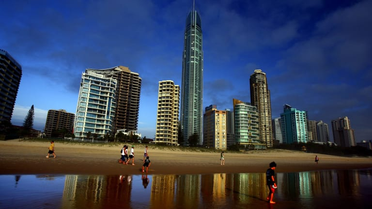 Gold Coast property prices have left the doldrums and appear to be about to soar.