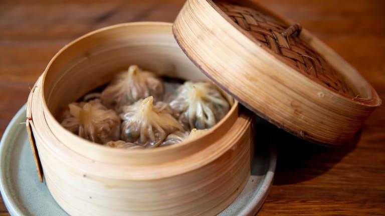 Peking duck soup dumplings.