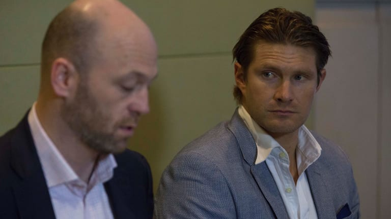 Pay day: Shane Watson's bank balance will have been boosted after receiving his share of a $58.5 million adjustment ledger payout from Cricket Australia.