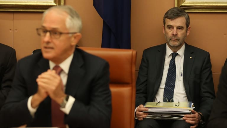 Drew Clarke moved from the Communications Department to become Prime Minister Malcolm Turnbull's chief of staff.