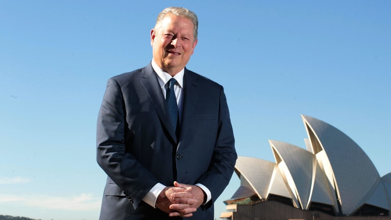 Former US vice-president Al Gore encourages investing with an eye to the environment.