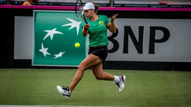 Ash Barty is determined to lead Australia back to the World Group and end a 44-year Fed Cup title drought.