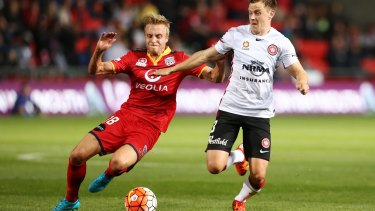 Ready for battle: Scott Jamieson is looking forward to his first Sydney derby in red and black.