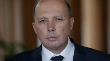 Peter Dutton says feminists are hypocrites, because they don't attack every instance of misogyny immediately.