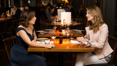 Zoe Foster Blake and Kate Waterhouse at the InterContinental Hotel.
