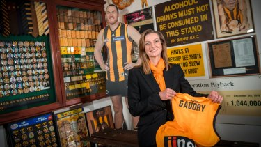 Tracey Gaudry has been sacked from her job as Hawthorn CEO.