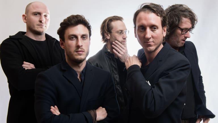 The Panics (from left): Jules Douglas, Myles Wootton, Drew Wootton, Jae Laffer and Paul Otway.