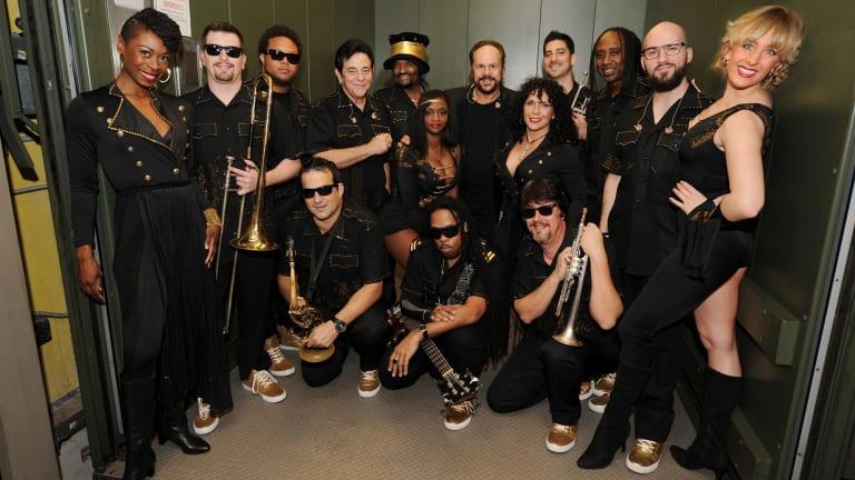 Big band, big sound: KC and the Sunshine Band.
