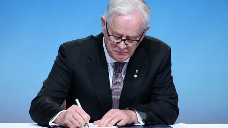 Former trade minister Andrew Robb signed the Trans-Pacific Partnership (TPP) in February this year.