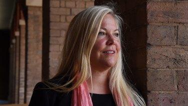 Dr Sylvia Gustin, senior neuroscientist at NeuRA, who co-authored the study.